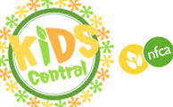 NFCA Kids Central Logo and Graphics