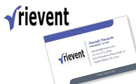 Rievent Technologies Logo | Business Cards