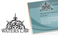 Waters Law Logo | Website | Social Media